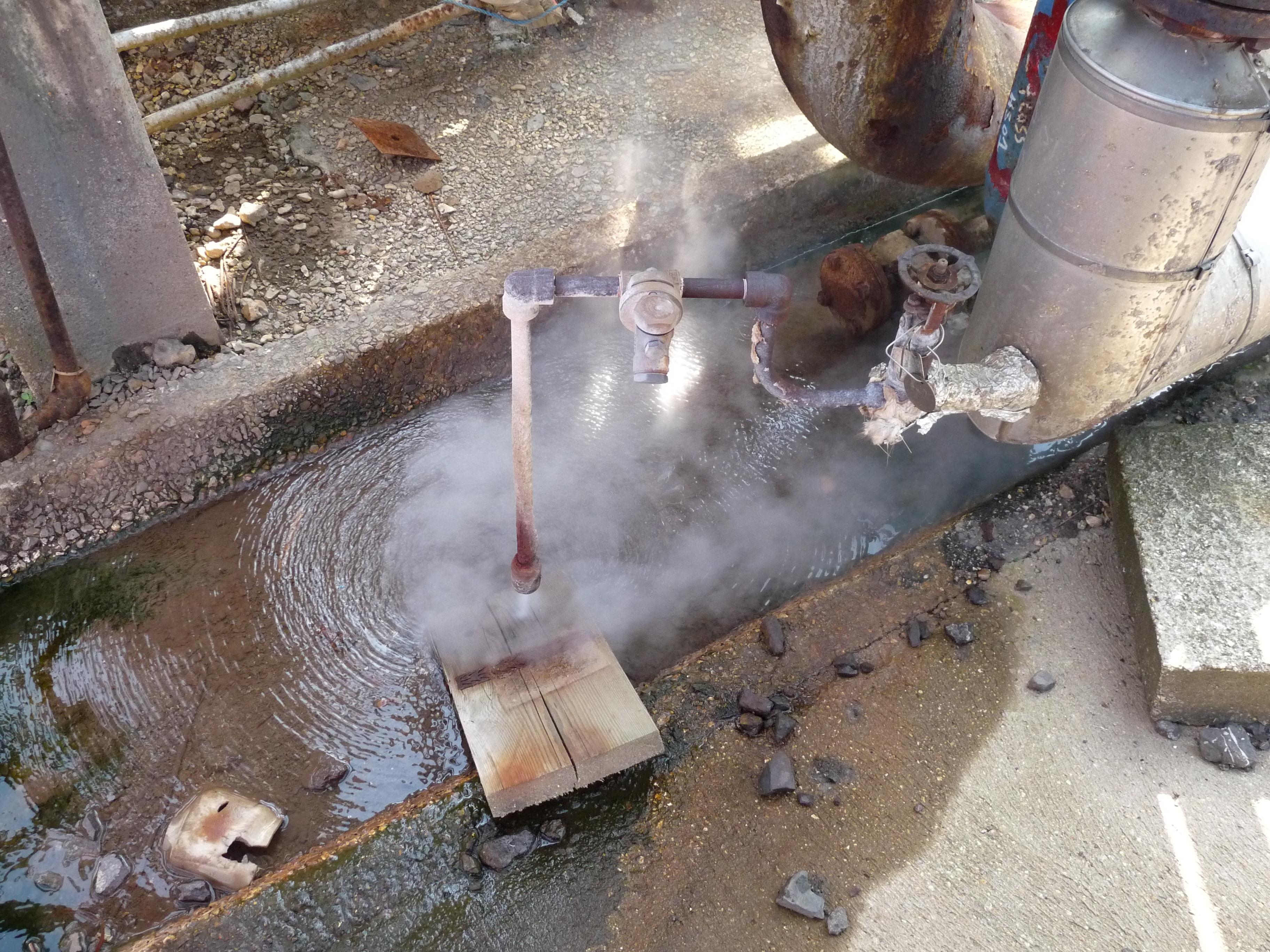Rise before steam trap